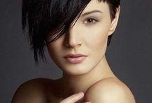SUPER COOL SHORT HAIR WITH LONG BANGS / SHORT HAIR