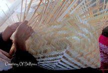 Kerajinan Anyaman Bambu | Bamboo Straw Handmade
