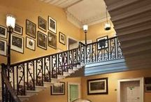 Stairwell and hall