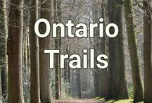 Ontario Trails / Links to information and maps of trails from around Ontario. Get outside and explore.