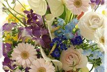 【ブルー&水色】生花ギフト / Flower noteの生花アレンジ。 ブルー系のギャラリーです。