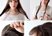 bridemaid hair