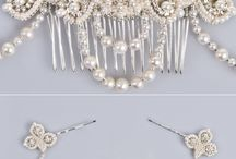 Bridal Hair Accessories / Accessorize your bridal look with the most gorgeous of items.