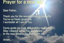 new job prayers, goals, interview tips