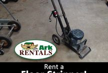 Rug & Floor Care / We rent all kinds of equipment to help you remove your old flooring and install your new flooring! Call: 570-366-1071 or Email: Info@arkrentals.com!