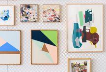 Gallery walls / Gallery wall inspiration / by amy baranski