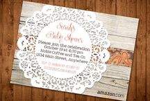 Baby Shower! / by Summer Ownby