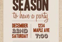 Kerst uitnodiging
