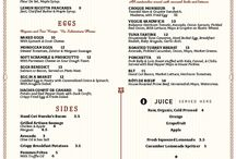 Menus / by Wendy
