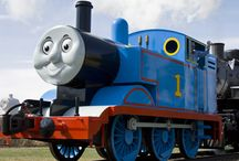 Thomas the Tank Engine / He's the world's favorite storybook tank engine! http://www.traintraveling.com/thomas