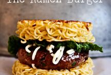 Noodle Burger Inspiration
