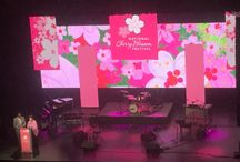 2016 Cherry Blossom Opening Ceremony / EVENT provided LED stage set, audio, lighting and video for the 2016 Cherry Blossom Festival Opening Ceremony.