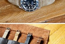 Watch Band / Metal, rubber, leather, fabric...