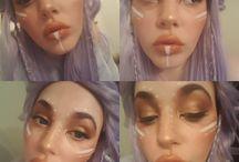 My creative makeup