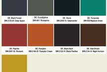 Eichler paint colors