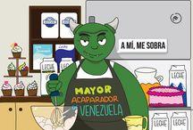 Caricaturas teleSUR / Acá te dejamos una recopilación con las mejore caricaturas del canal de América Latina y el Caribe.