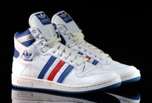 Sneakers / Nothing but classic basketball shoes.