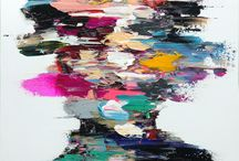 portrait abstrait