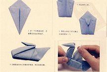 origami napkins / by Pilar Iranzo Roura