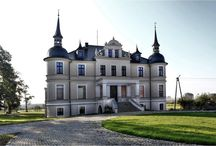 Orla - Pałac / Pałac w Orli z końca XIX wieku. Obecnie - hotel.  Palace in Orla from the end of the 19th century. At present - hotel.