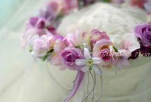 FlowerCrown, お花冠 / アーティフィシャルフラワーやプリザーブドフラワー、生花で制作したお花冠