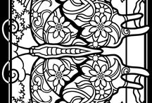 School - colouring pages