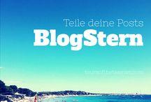 BlogStern / Ein Gruppenboard für deutschsprachige Blogger für Reise, Food, Family, Lifestyle, Fashion etc. Magst du dabei sein, so schick' eine Nachricht an: CasaSelvanegra@web.de! (So kann ich dich einfacher zuordnen!)