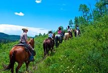 Colorado Dude Ranch Vacation for Families / Kids and dude ranches are a great fit.  It is so amazing to watch a child be free, to get dirty and to be outside all day at a dude ranch.