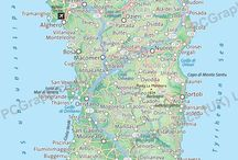 Maps of Sardinia / Maps of Sardinia produced by PCGraphics a few years ago. Find out more about our maps on our website (http://www.pcgraphics.uk.com) or on our other Pinterest Boards.