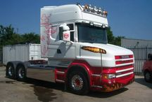 Scania T Cab / A selection of very nice Scania T Cabs complete with Alcoa Wheels