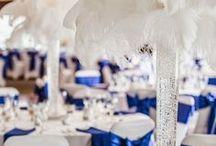 mariage bleu nuit argenté