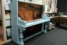 August Dassel piano / Compleet refurbishing of the piano