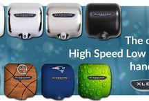 Xlerator High Speed Low Energy Hand Dryers