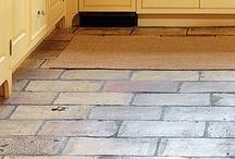 Terracotta belegg og gulv