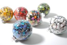 CHRISTMAS BALLS / by Mary Therese Griffin