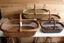 Basketry - open baskets