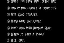 """#Showyourwork / Inspired by the book """"Show Your Work"""" (Austin Kleon), this board is an embrace towards the idea of showing my work to the cyber community. As Eleanor Roosevelt said: """"Great minds discuss ideas. Average minds discuss events. Small minds discuss people."""""""