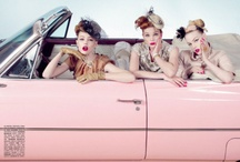 """✧✧ THE SOCIALITE'S  ROAD TRIP   ✧✧ / ~~ The socialite & her Girl Friends on a road trip ~~ Thelma & Louise style  When true friends meet in adverse hour; 'Tis like a sunbeam through a shower. A watery way an instant seen, The darkly closing clouds between."""" ✧ Sir Walter Scott  ✧ / by Dawn Aurora The Socialite Lifestyle"""