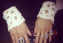 Cuff embroidery / Valentino