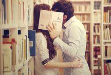 Library Themed Engagement / by Ali & Garrett Wedding Photographers