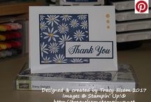 Stampin' Up! Daisy Delight / Stamp the daisy image and then punch out the image for flowers in a flash. Stamp and punch multiple flowers for a more full flower.  Order it now in my online store, https://www.stampinup.com/ecweb/ProductDetails.aspx?productID=143669&dbwsdemoid=2121697