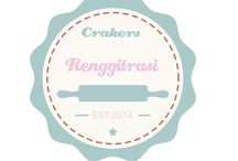 Renggitrasi crakers / traditional crakers form indonesia