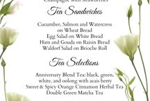 High tea ideas