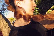 Mes coiffures / My hairstyles / Tresses, chignons et autres coiffures que j'ai me semble-t-il réussies :D