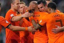 Netherlands National Team - Clockwork Orange / The Nederlands Nationaal Voetbalelftal nicknamed Oranje, Holland, Clockwork Orange or The Flying Dutchmen