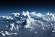 NUBES / Las nubes siempre están ahí, esperando que nosotros descubramos su magia. Que cada cual escoja su mágica nube!!!!!