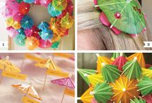 Party decorations / by JOAN HAGEDORN