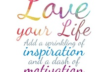 Weekly Words / Inspirational word graphics & quotes