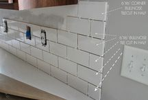 backsplash / by Jackie Sandaker