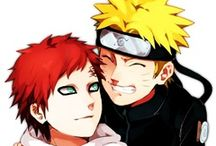 Gaara , naruto and sasuke